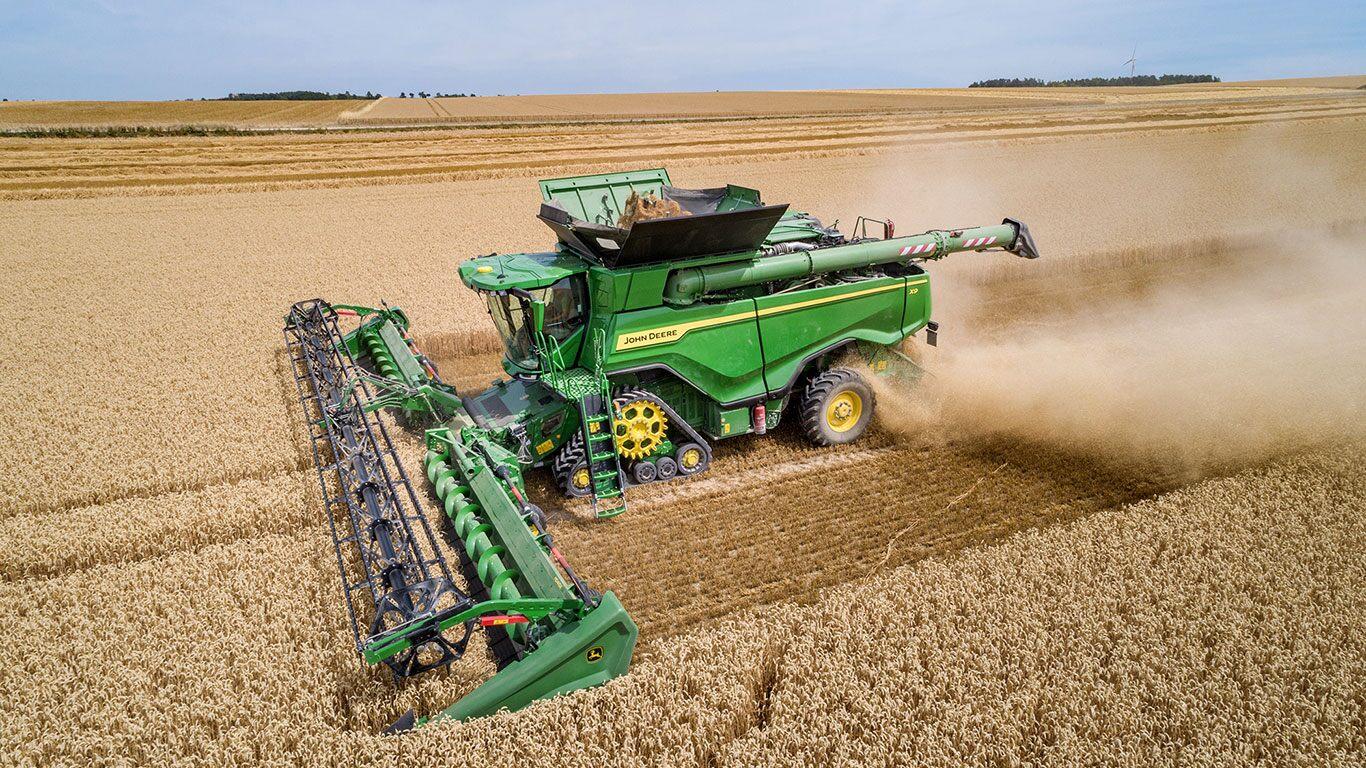 100-tonne X9 Combine Harvester