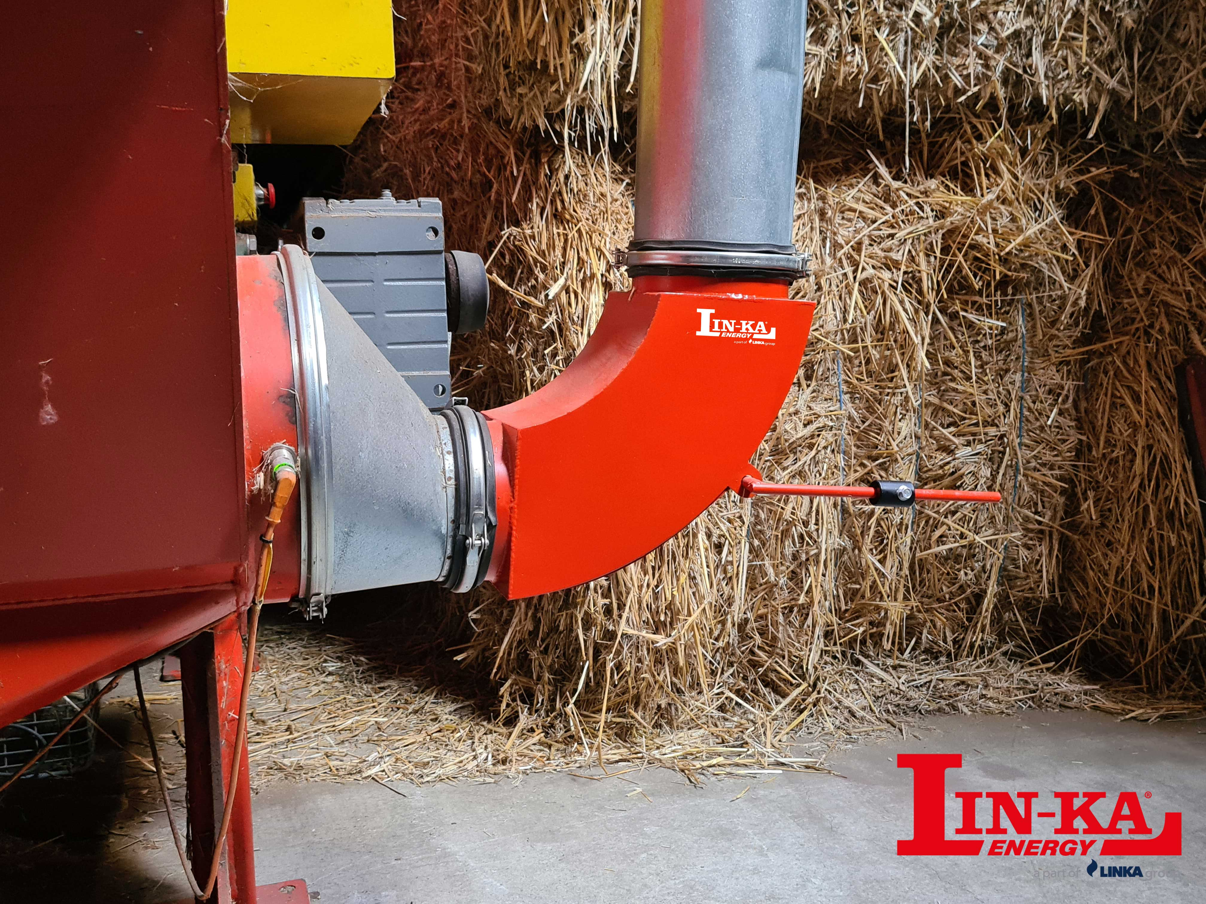 Stone separator - A conversion kit that sorts unwanted stones from the straw